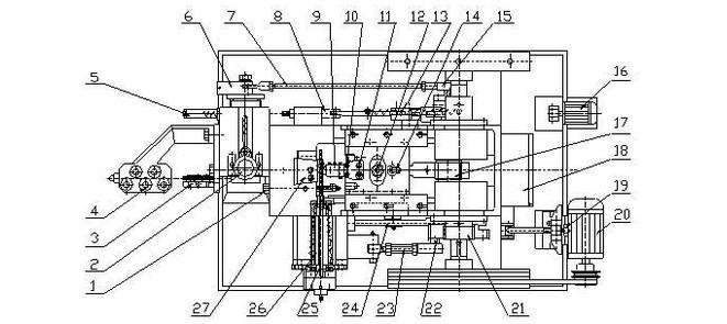 冷镦机的加工工艺,机构及其工作原理
